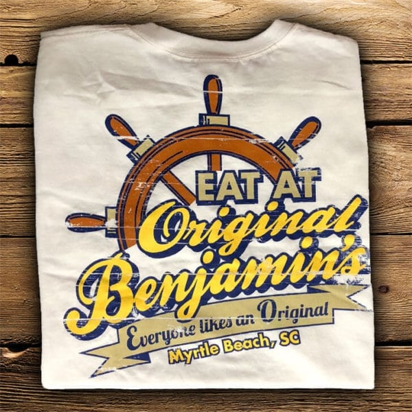 original shirt back Myrtle Beach Souvenirs