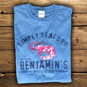 kids simply seafood pink Myrtle Beach Souvenirs