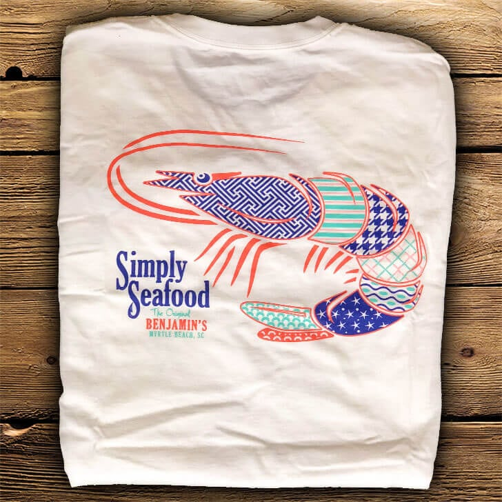 simply seafood shrimp back Myrtle Beach Souvenirs