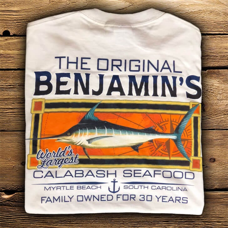 sailfish shirt back Myrtle Beach Souvenirs