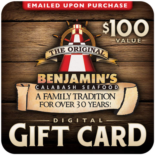100 Gift Cards Myrtle Beach Souvenirs